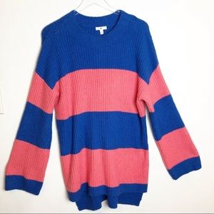 BP | Rugby Striped Pattern Sweater